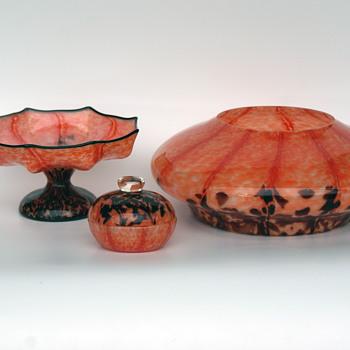 WELZ stripes and spots group - Art Glass