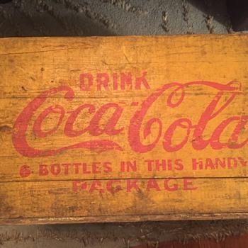 Coca Cola crate - Coca-Cola