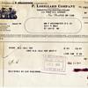 1931 Lorillard Tobacco Invoice
