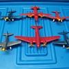 vintage 1950`s Thomas Toy airplanes