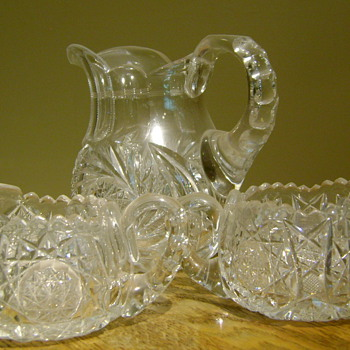 "Grandmother's ""crystal"" - Glassware"