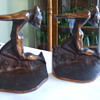 "ART DECO BRONZED BOOKENDS ""Nude With Outstretched Arms"" Variety?"