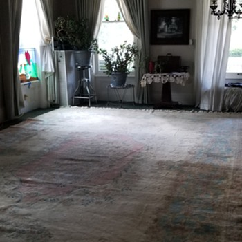 Antique wool rug - Rugs and Textiles