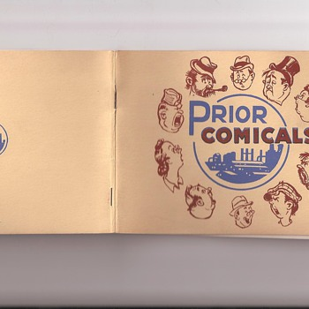 Prior  Comicals - Prior Chemical Company - Advertising