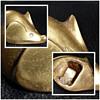 brass mouse bottle opener