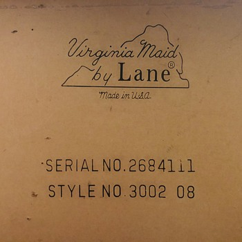 Lane Sofa Table  - Furniture