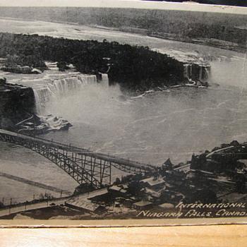Old Postcard of Niagra Falls #2
