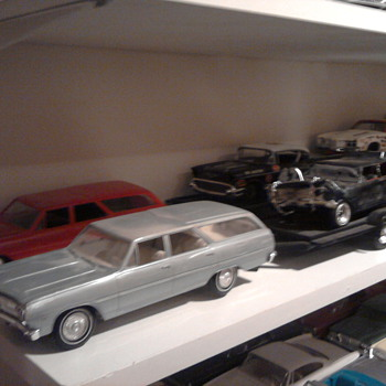 Try and buy a Chrysler Imperial promo, you'll have to step up...  A real one is not much more.  Same is so with many cars..