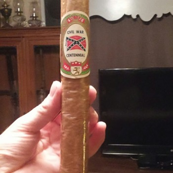 Confederate reunion cigar - Tobacciana