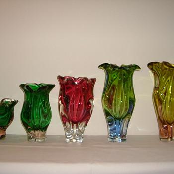 Chribska Vases  - Art Glass