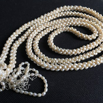 Pearl necklace  - Fine Jewelry