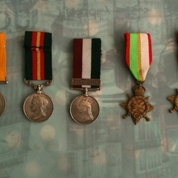 Medals and Certificate of my Grandfather given by British Army