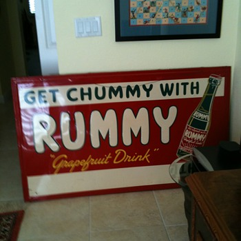 Huge Rummy Sign