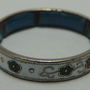 Girl's Ring - Metal and Enamel?