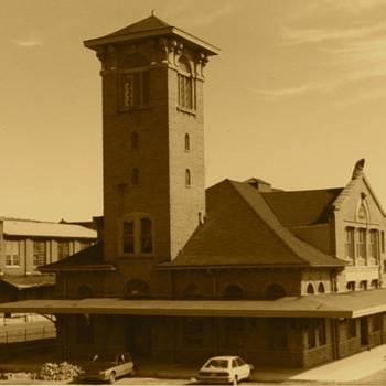 The Lackawanna Railroad's Binghamton, NY Station - Photographs