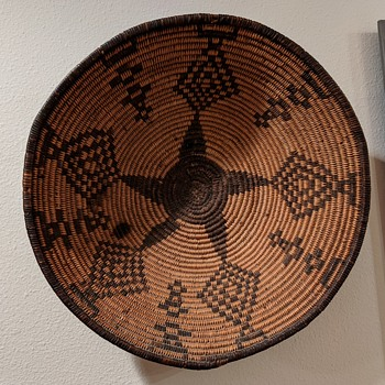 First Nations Basket - Native American