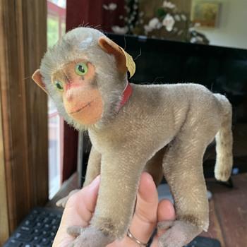 Steiff Coco Monkey w all tags - Animals