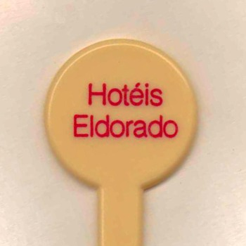 Hotéis Eldorado (Brazil) - Cocktail Stirrer - Advertising