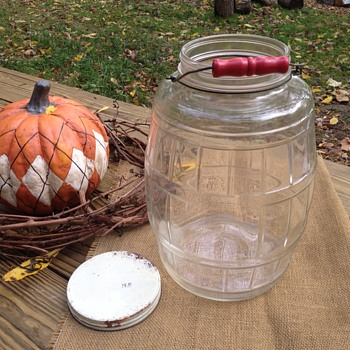 Vintage pickle jar - Bottles