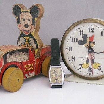 Mickey Mouse Alarm - Clocks