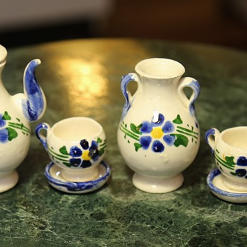 Miniature Mexican Chocolate / Coffee Set? - Pottery