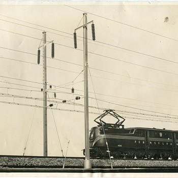 Pennsylvania Railroad GG1 #4850 - Railroadiana
