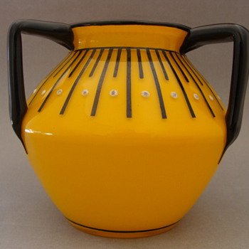 Loetz Tango Enamel - #3 Hosch - Art Glass