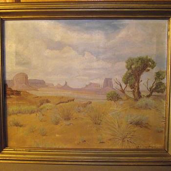 Monument Valley, By, W.H. Grundmann