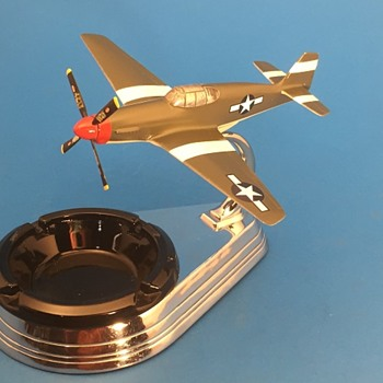 Vintage ALLYN P-51B Sandman Prototype   - Advertising