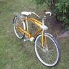 Gold Columbia Bicycle Unrestored w/ Original Tires