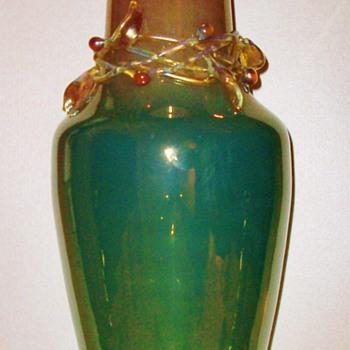 Large Loetz Ausfuehrung 141 Vase ( 1912 ). - Art Glass