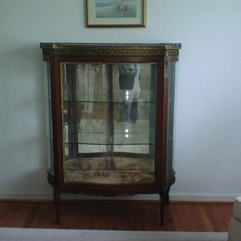 Rosewood China Cabinet - late 1800's from France