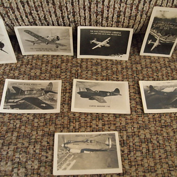 World War 2 Searchlight Identification Cards - Military and Wartime