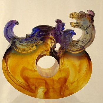 Another beauty from Liuligongfang Taiwan - Art Glass
