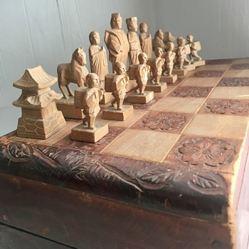 Antique Chess Set