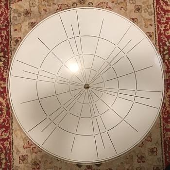 Mid century modern ceiling shades. - Mid-Century Modern