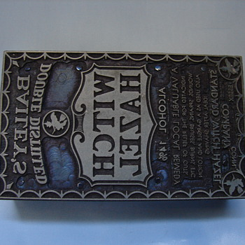 Two Bailey's Double Distilled Witch Hazel Stamps? - Advertising