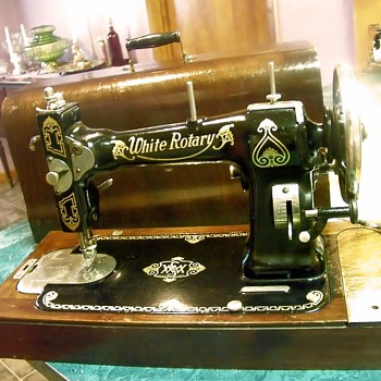 40 White Rotary Collectors Weekly Amazing 1927 White Rotary Sewing Machine