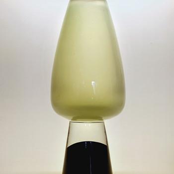 Gunnar Nylund vase on heel base - Strombergshyttan 1950s. - Art Glass