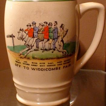 """Off To Widdicombe Fair"" Mug Made In England"