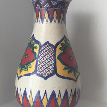 Clay Vase  - Pottery
