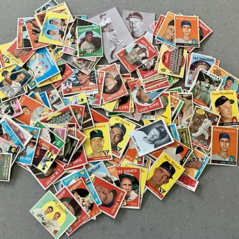 A collection of Vintage Baseball Cards  - Baseball