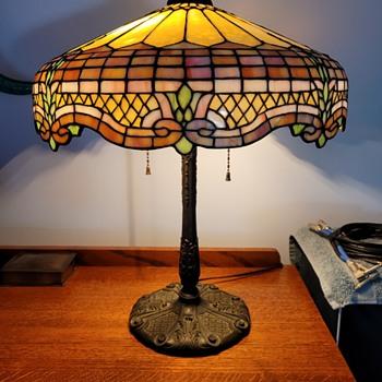 Gorham leaded glass lamp - Lamps