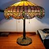 Gorham leaded glass lamp