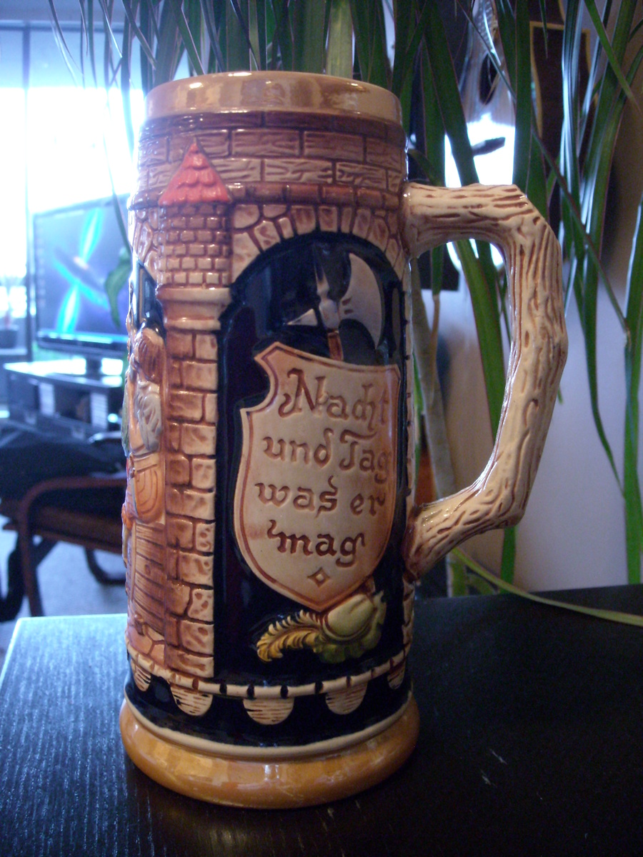 Vintage West Germany Musical Beer Stein with Pewter Lid |Vintage West Germany Beer Steins