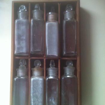 Vintage Bottles Flea Market Find - Bottles