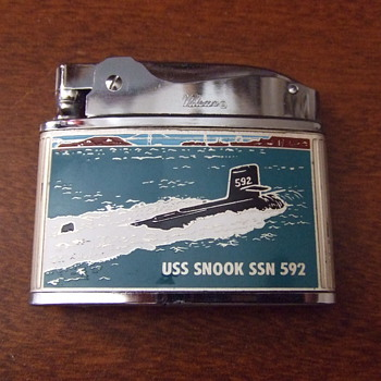 USS Snook SSN 592, Souvenir Lighter - Military and Wartime