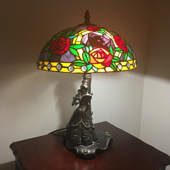 Glassmasters Disney Beauty and the Beast lamp - Lamps