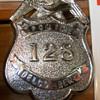 Delco-Remy police badge