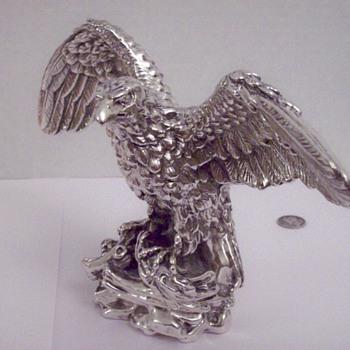 Miller Brewery Sterling Silver Eagle Figurine/Statue CEO Presentation Piece - Breweriana